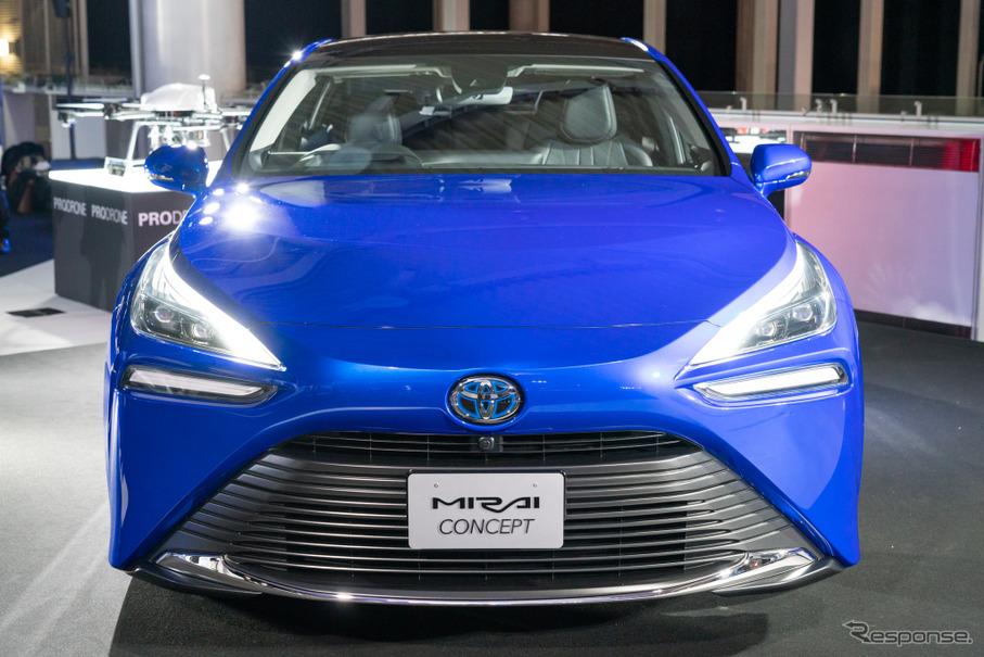 スポーティなデザインで後輪駆動、刷新されたトヨタの燃料電池車