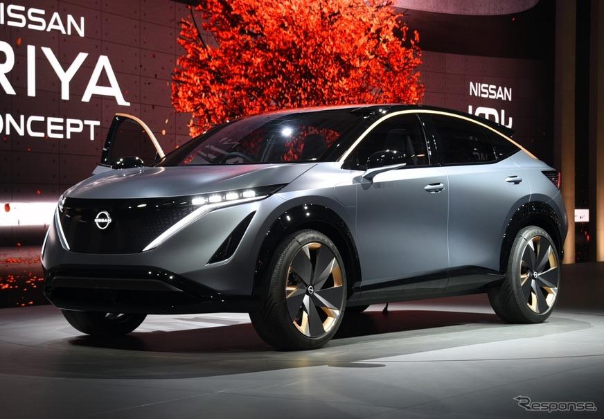ニッサン アリア コンセプト は、日産を再定義する電動SUV\u2026東京
