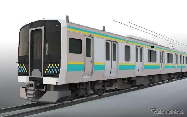 房総各線の末端区間に新型電車…2両編成、ワンマン対応のE131系 2021 ...
