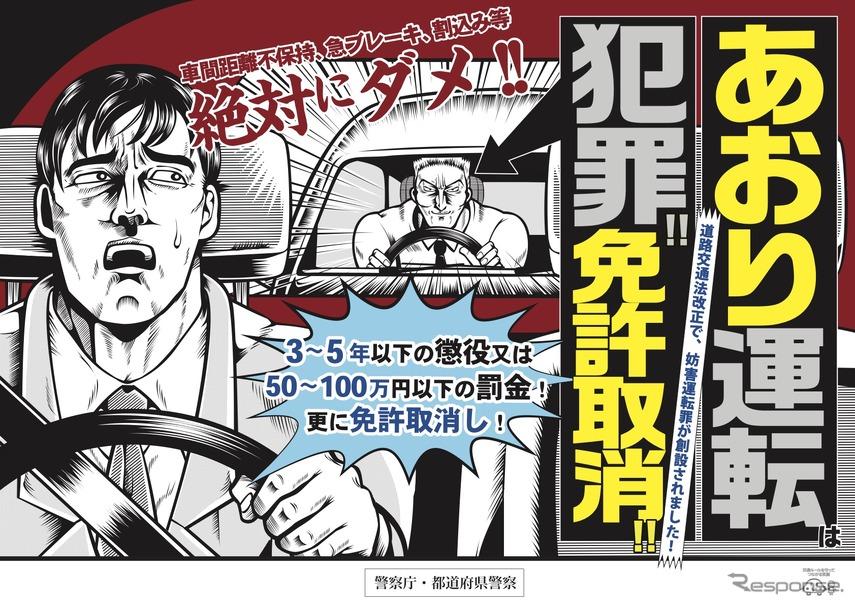 令和2年(2020年)改正道路交通法ポスター