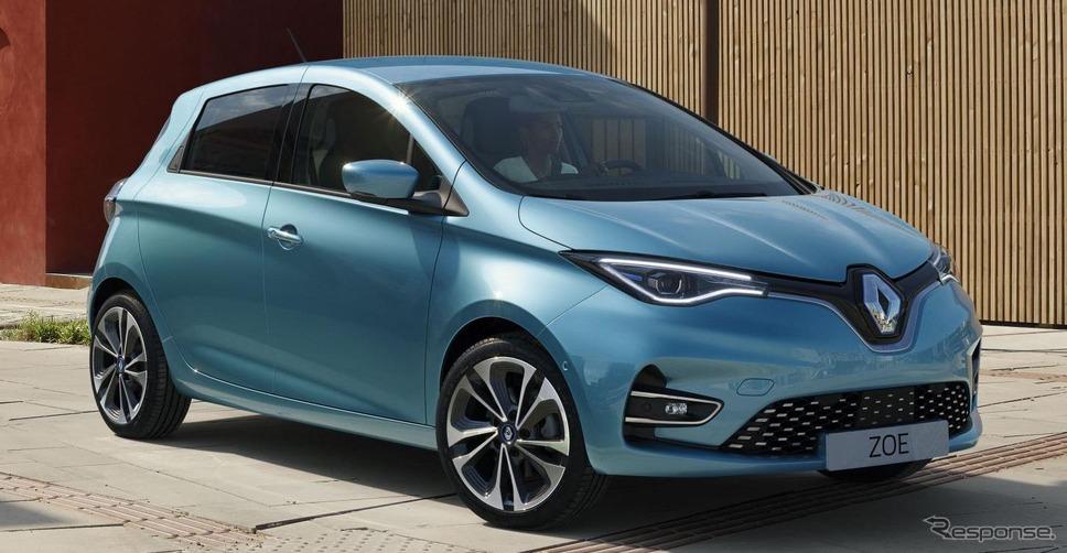 ルノーEV販売、欧州で30万台を突破…EV最量販ブランドに | レスポンス ...