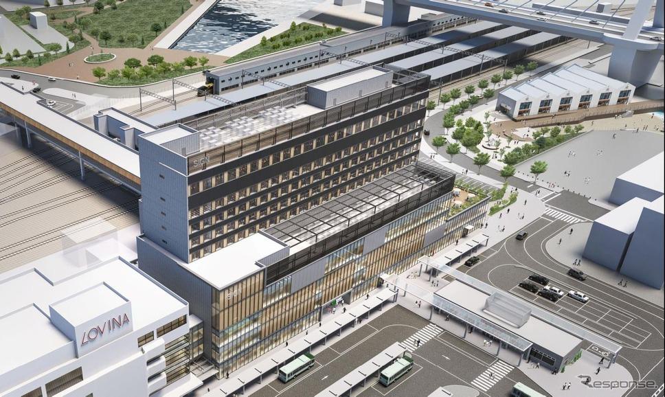 駅舎 新 青森 駅 青森駅新駅舎、3月27日供用開始! 5代目駅舎の開業にあわせてイベントも実施