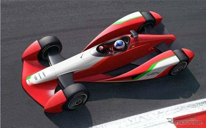 ジュネーブモーターショー092012年のf1マシンフィオラバンティが提案