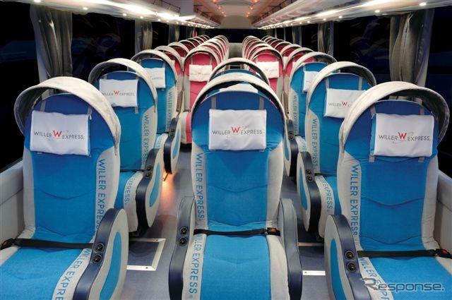 バス ウィラー 大阪からWILLER EXPRESS