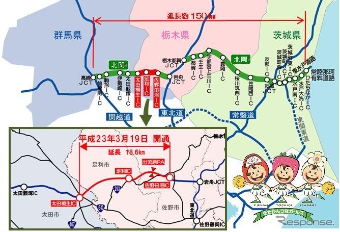 通行止め 北 関東 道