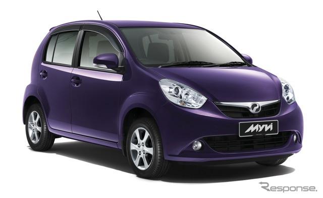 ダイハツ、マレーシアの国民車を...
