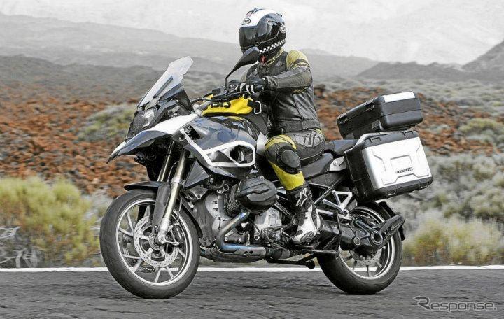 BMWの新型アドベンチャーバイク、R1250GS LC…水冷ボクサー搭載へ | レスポンス(Response.jp)