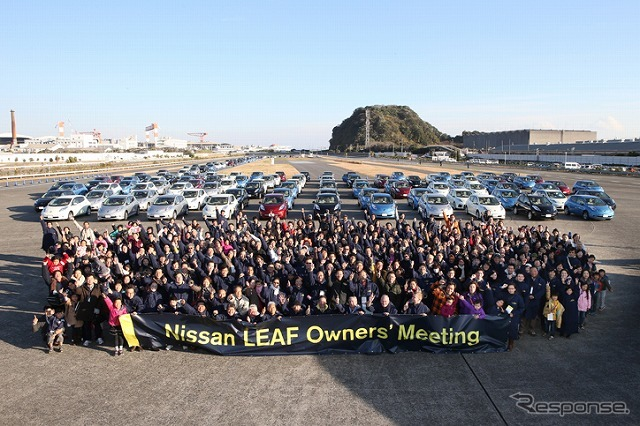 NISSAN LEAF Owners' Meeting 2012 〜2nd Anniversary in 追浜〜