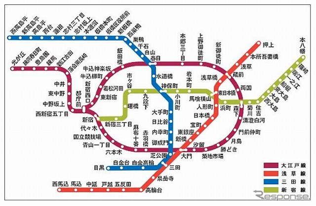 都営地下鉄全線でWiMAXが利用可...