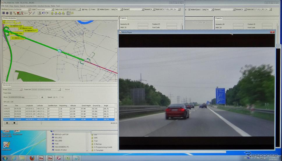 欧州でのわかりやすい高速道分岐ガイドを目指す…ゼンリンEU ...