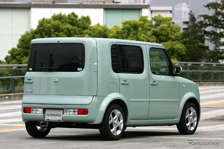日産 キューブ、1.5リットル車を新設定 | レスポンス(Response.jp)