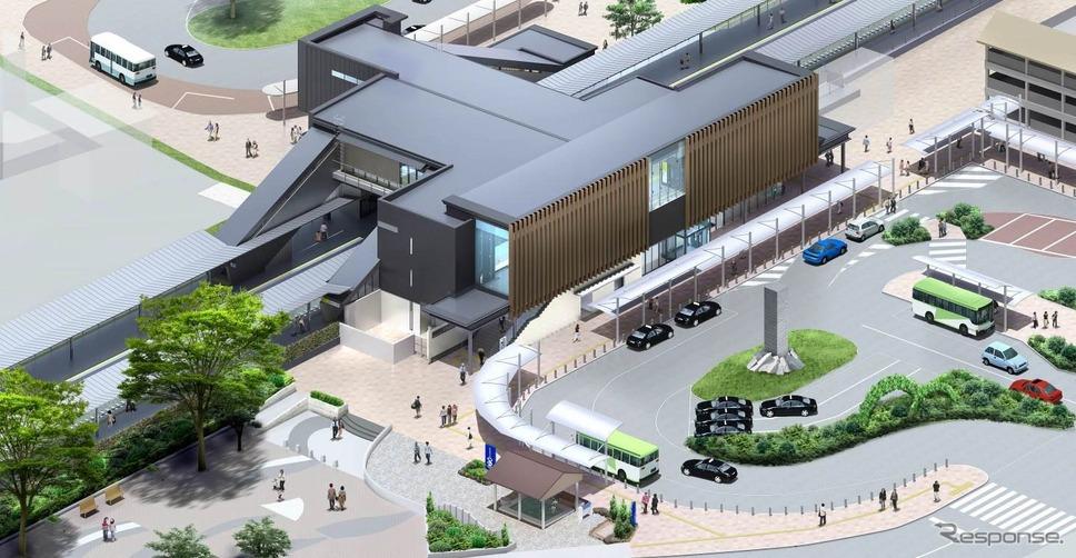 JR東日本、中央本線の石和温泉駅...