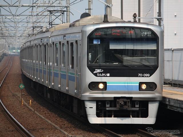 東京臨海高速鉄道、コミケにあわ...