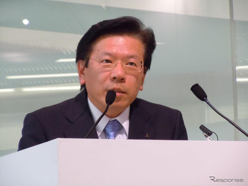 三菱自動車、新社長に相川哲郎常務が昇格 | レスポンス(Response.jp)