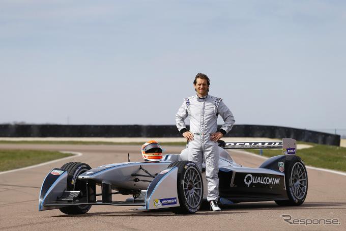 EVレース、 フォーミュラE…元F1選手トゥルーリがチームオーナー兼 ...