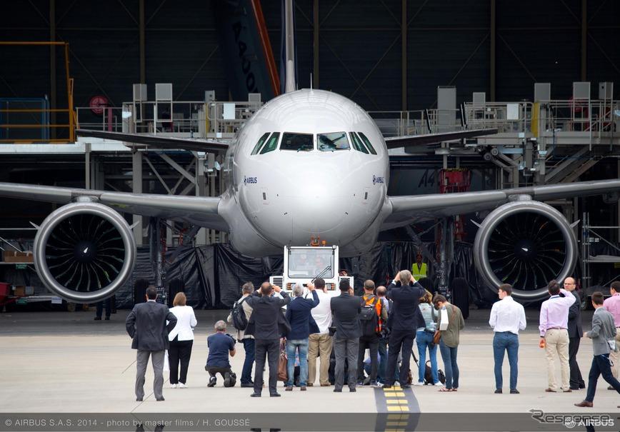 エアバス、A320neo初号機が完成…...