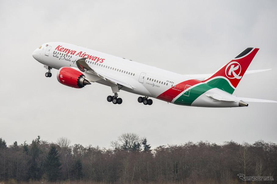 アフリカ・ケニア航空、東アジア...