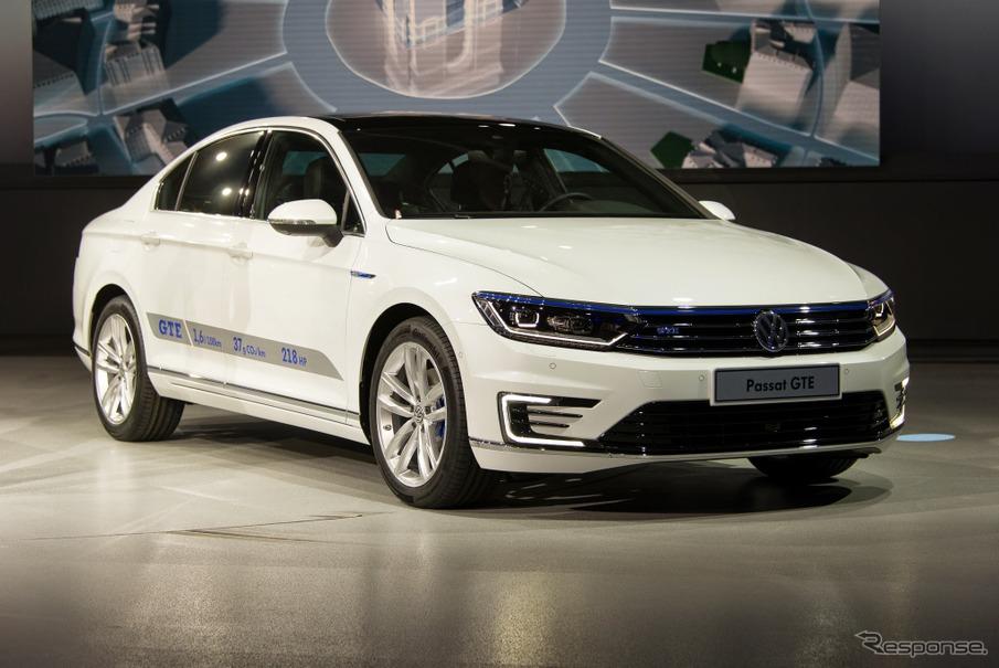 VW パサート GTE(パリモーターショー14)
