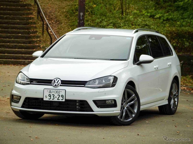 VW ゴルフヴァリアント R-Line ...