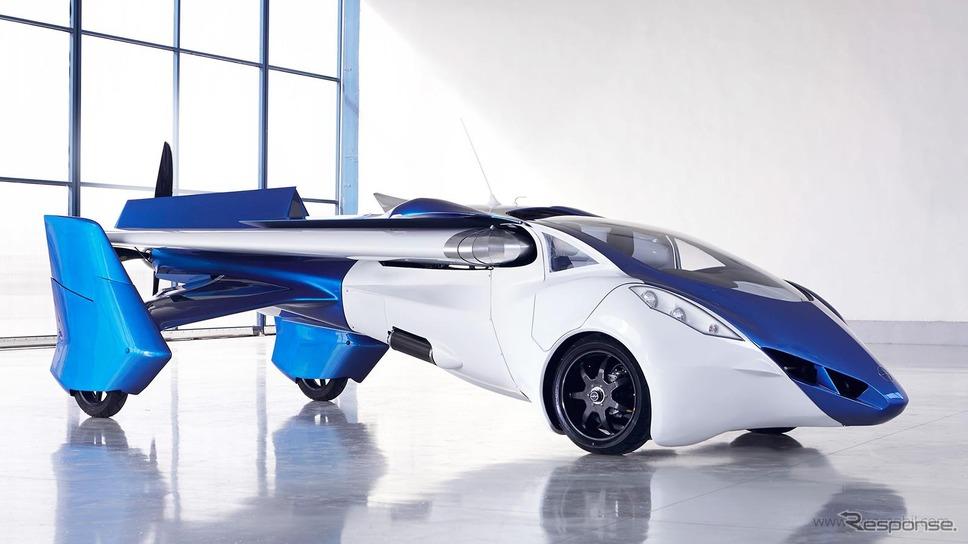 空飛ぶクルマ「エアロモービル3.0」