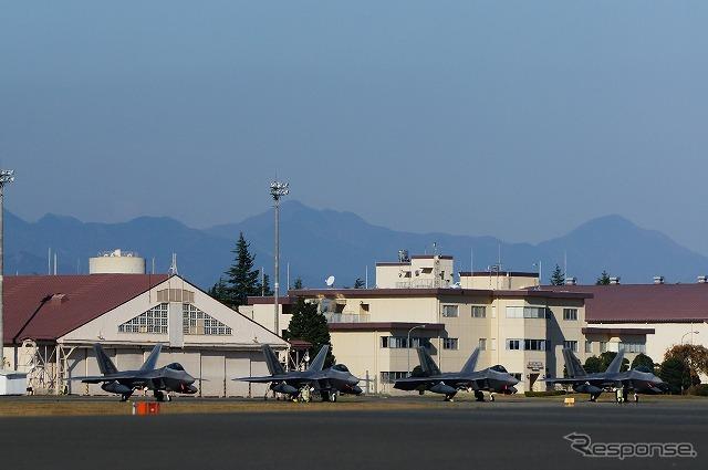 アメリカ軍のステルス戦闘機、横田基地へ2年ぶりの飛来   レスポンス ...