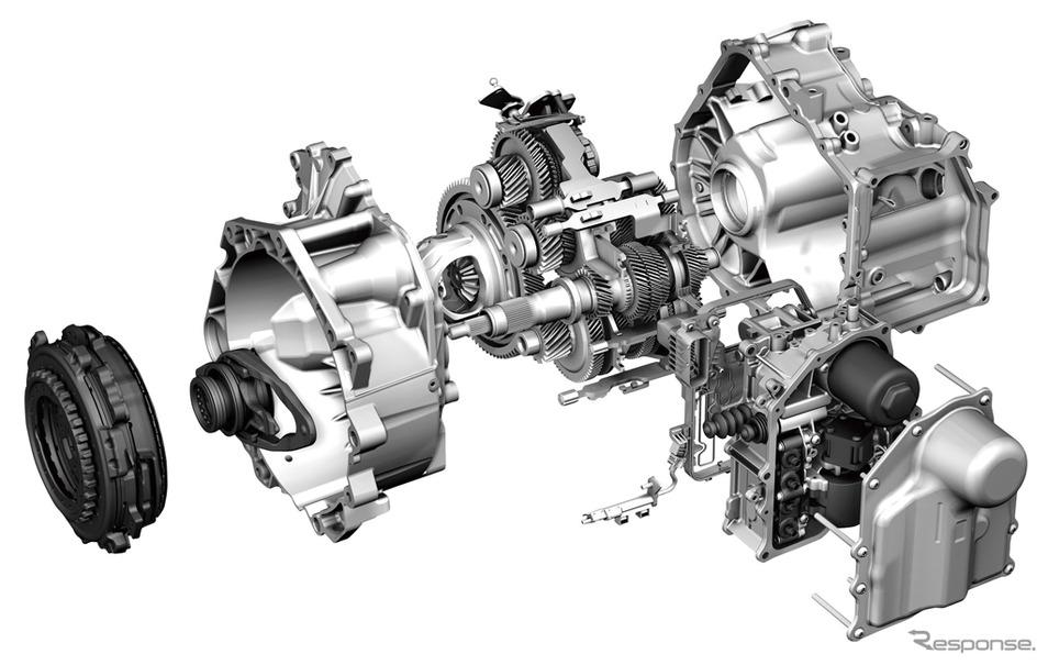7速乾式クラッチを採用したDSG(参考画像)
