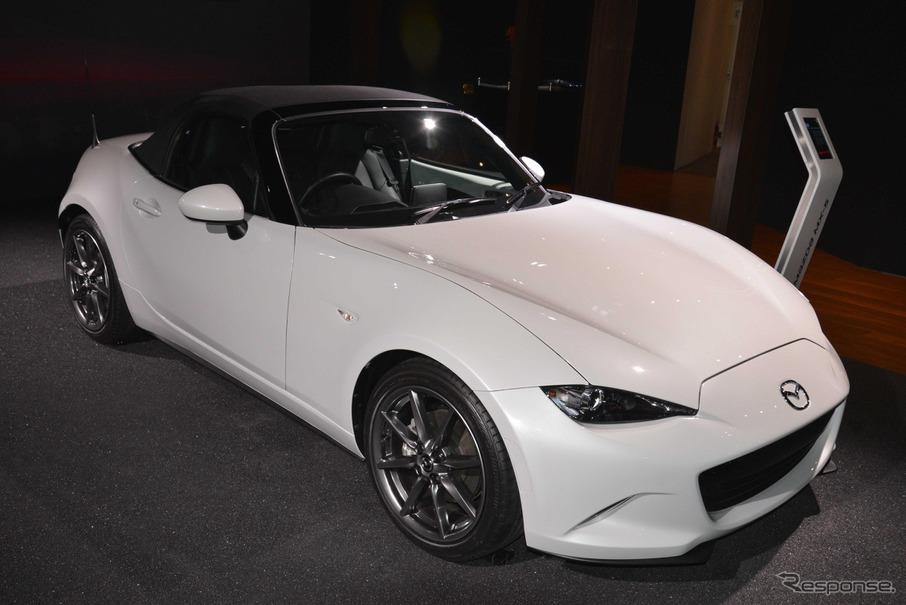 新型 マツダ ロードスター 北米仕様(ロサンゼルスモーターショー14)