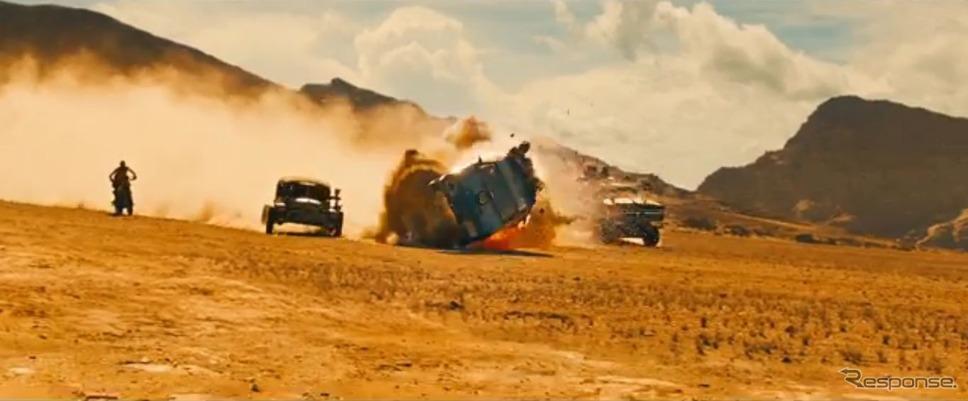 『マッドマックス/フューリーロード』の最新予告映像