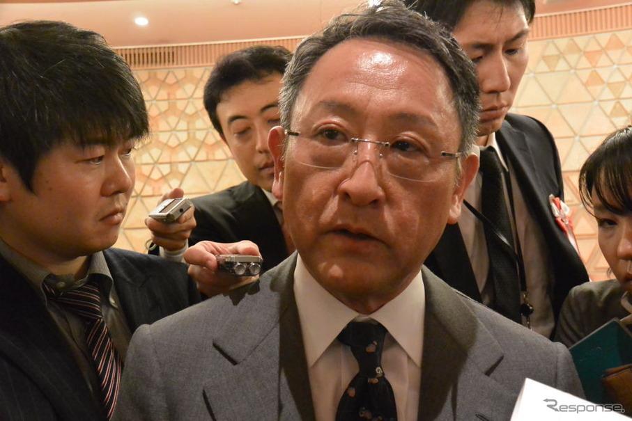 トヨタ自動車 豊田章男 社長