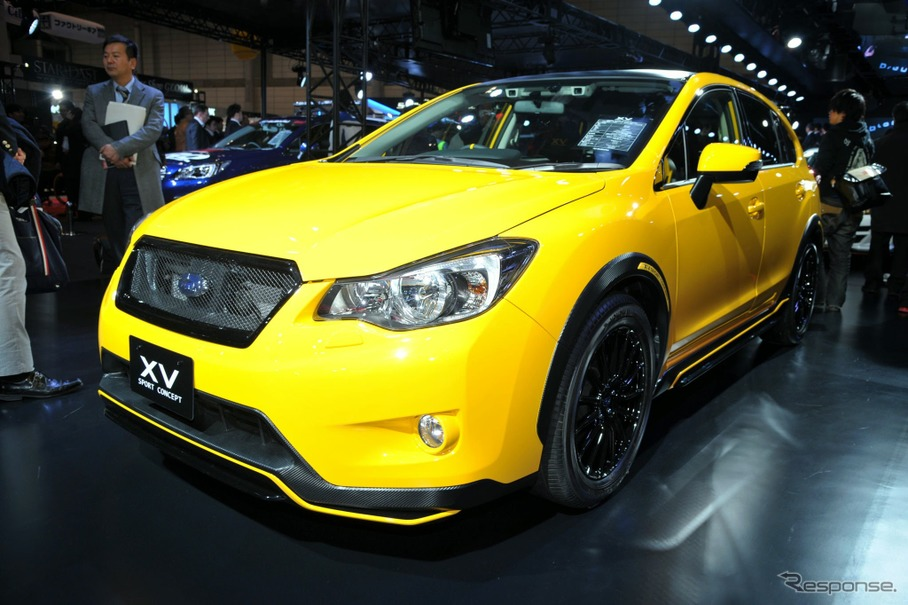 New Subaru Xv >> 【東京オートサロン15】スバル XV スポーツコンセプト …「POP STAR」がベース[詳細画像]   レスポンス(Response.jp)