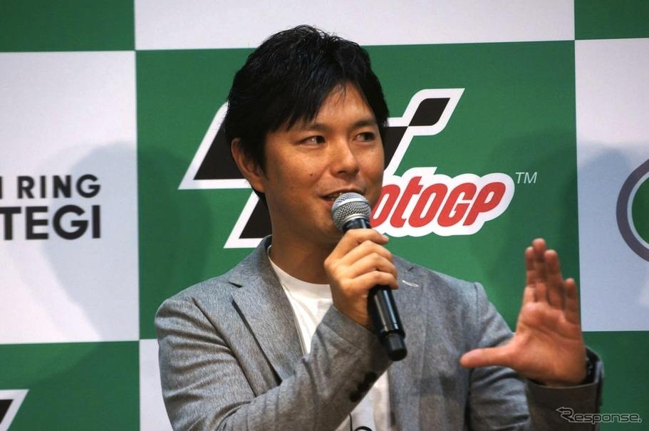 中野真矢氏(Moto GP 日本グランプリPRイベント)