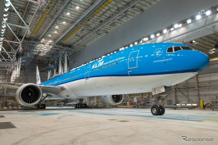 KLMオランダ航空、ワールドビジ...