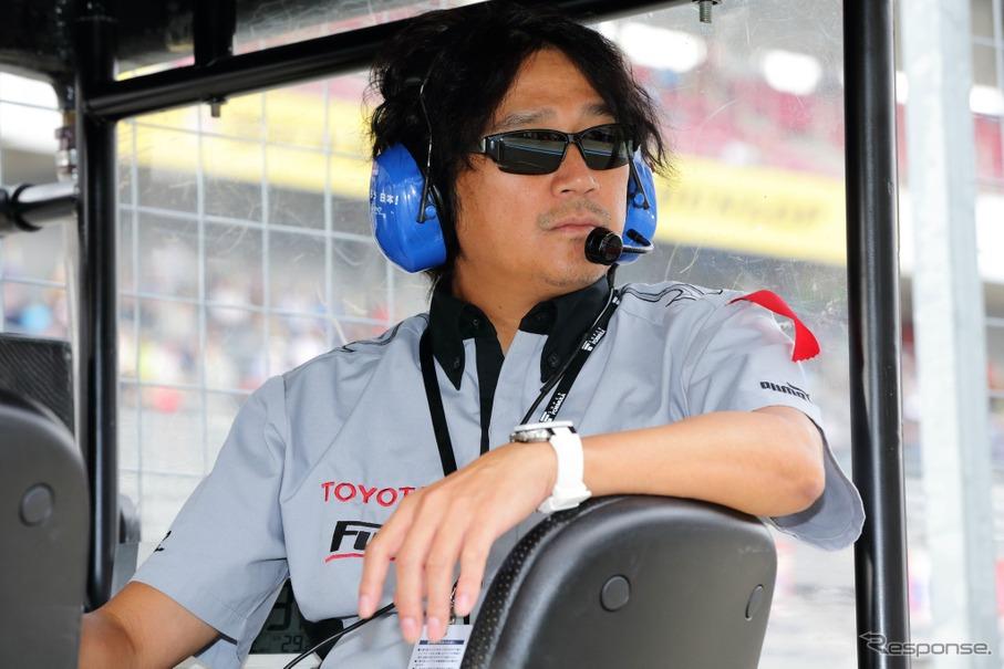 KONDO RACINGを率いて、SFに参戦している近藤真彦監督。