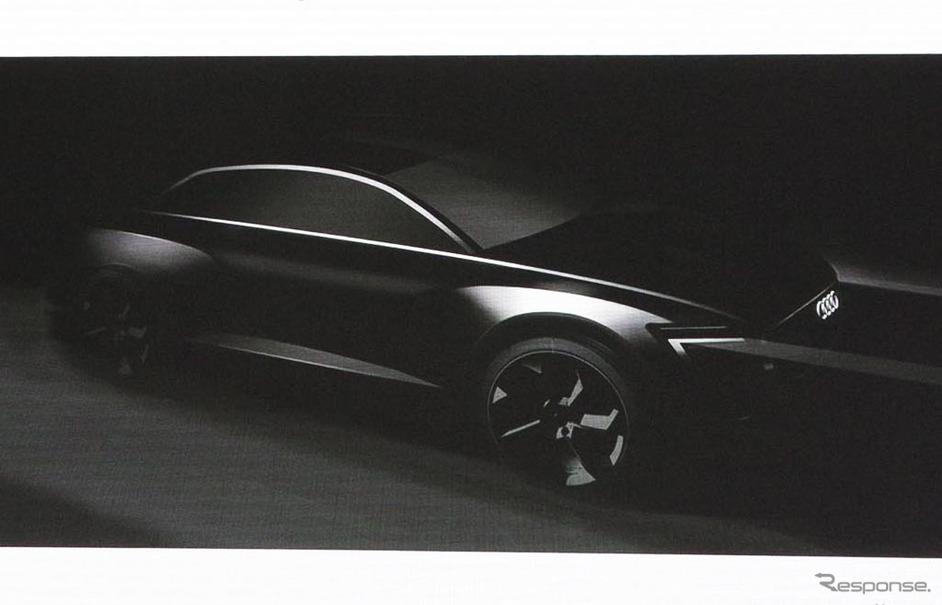 アウディが2018年に投入予定のSUVタイプの電気自動車