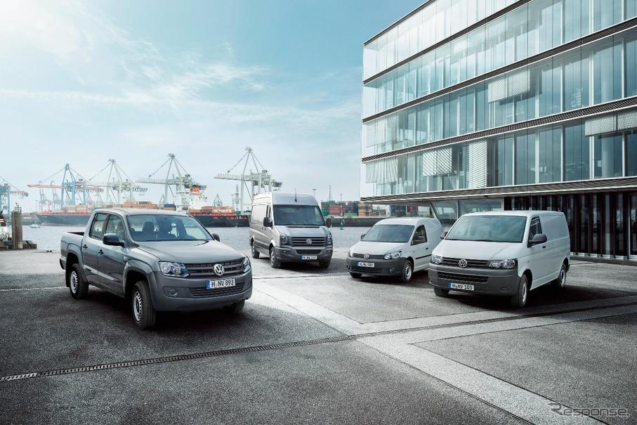 VW 商用車世界販売、4.8%増の11...