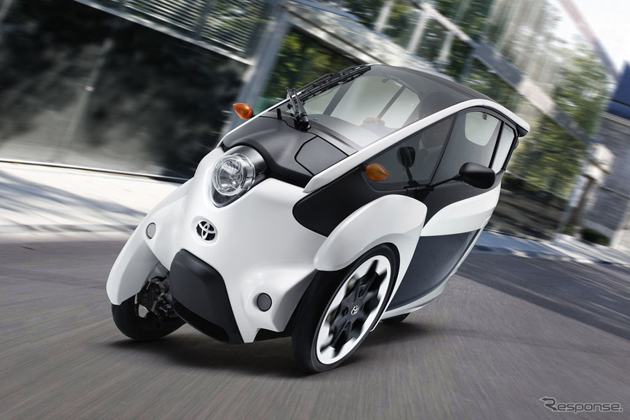 トヨタ i-ROAD、実用化に向け試乗モニター100名を募集 | レスポンス ...