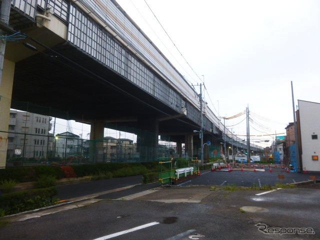 首都高7号とC2を連絡する小松川...