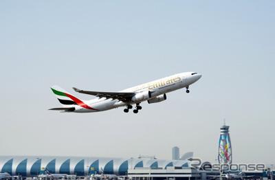 エミレーツ航空、イラン第2の都...