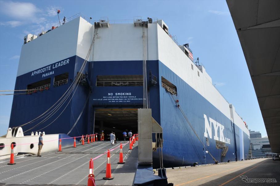 「車専用船、写真」の画像検索結果