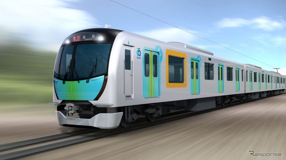 西武鉄道の新型通勤電車「40000系」のイメージ。2017年春から運行を開始する。