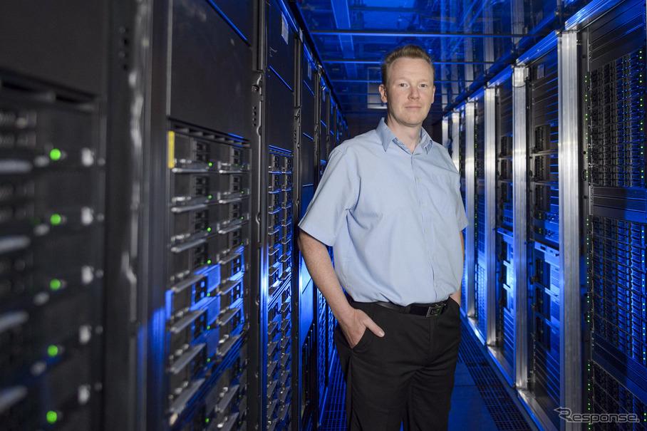 ボッシュのデータマイニングチームを統括するローサー・バウム氏