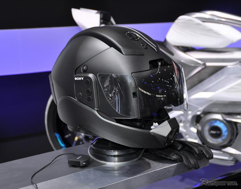 ヤマハ発動機がソニーを共同開発中のヘルメット
