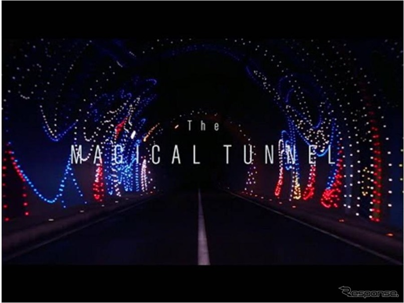 「The MAGICAL TUNNEL 日産デイズ技術」篇