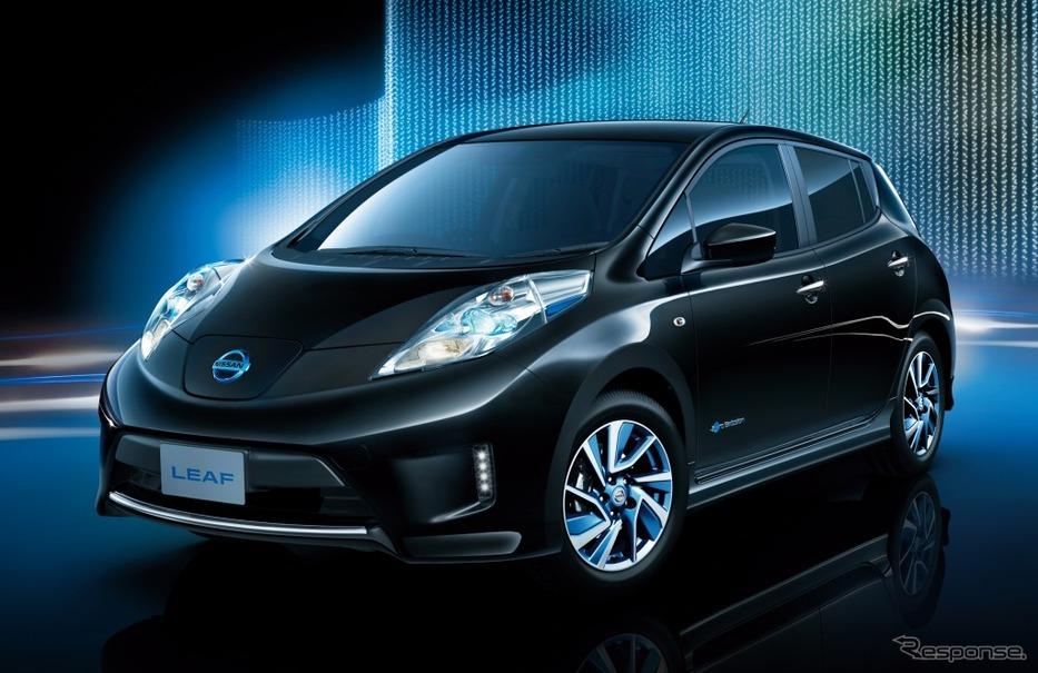 【日産 リーフ 改良新型】大容量バッテリー搭載モデル、発売は12月24日…一充電で280km走行   レスポンス ...