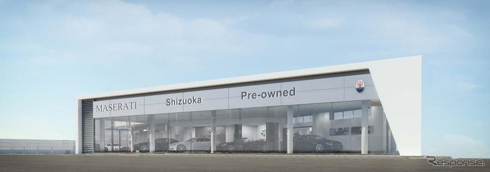 マセラティ浜松 静岡プレオウンドカーセンター