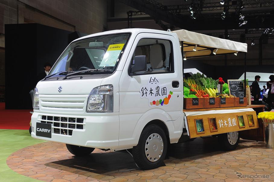 スズキ キャリイ 軽トラ市仕様(東京モーターショー15)