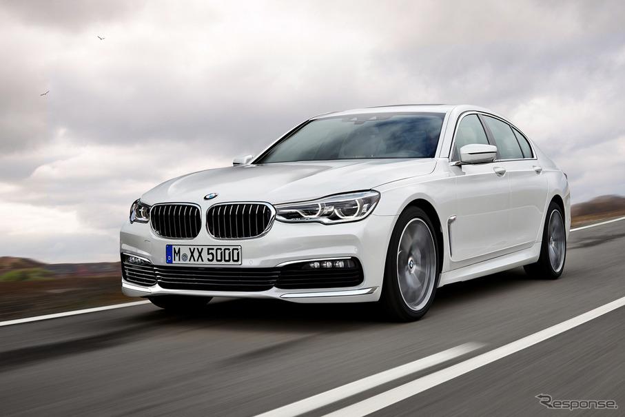 BMW 5シリーズ セダン スクープ写真