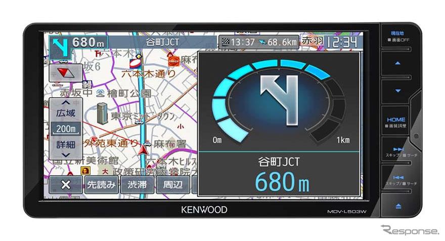ケンウッド MDV-L503W