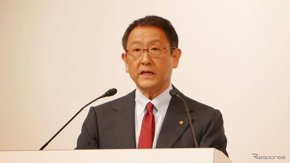 トヨタ自動車の豊田章男社長(資料画像)