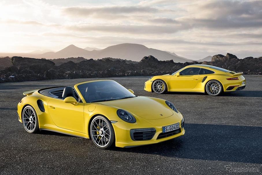 ポルシェ 911 ターボ 改良新型